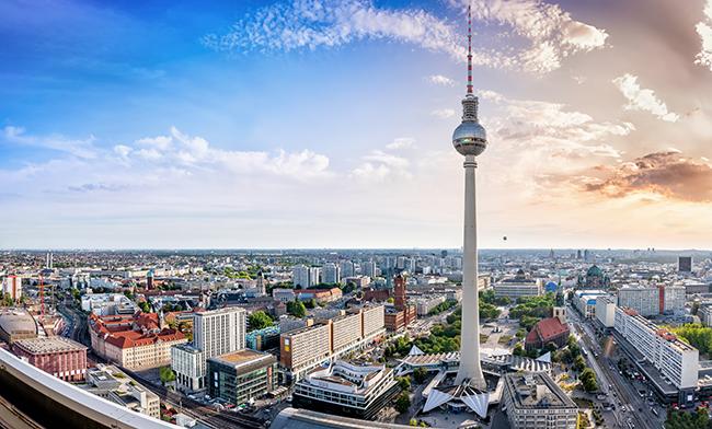 Berlin: l'espace urbain symbole de la réunification