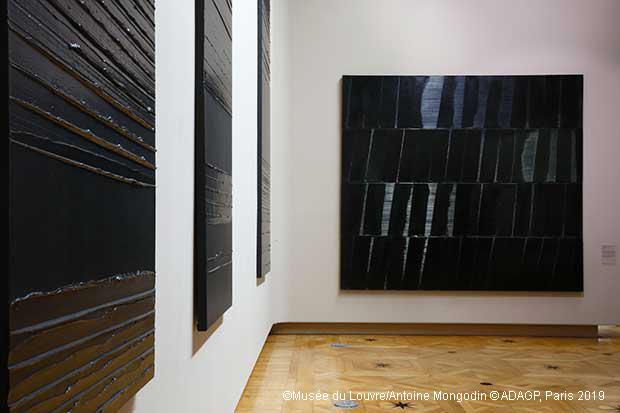 Soulages s'invite au Louvre pour ses 100 ans