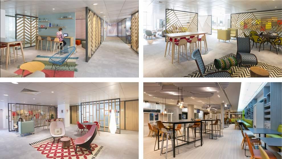 Les Millenials font leur révolution dans l'architecture des lieux de travail