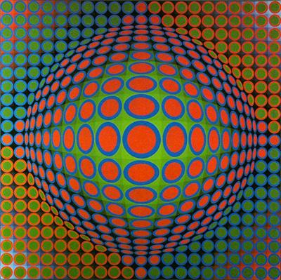 Vasarely au Centre Pompidou : retour vers le futur