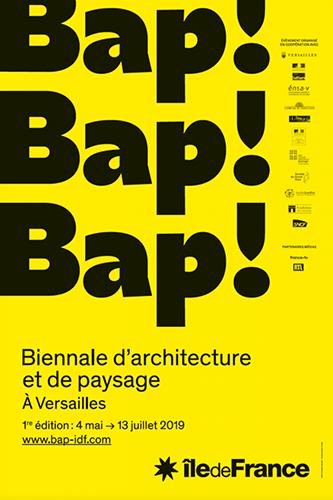1ère biennale d'architecture et du paysage à Versailles