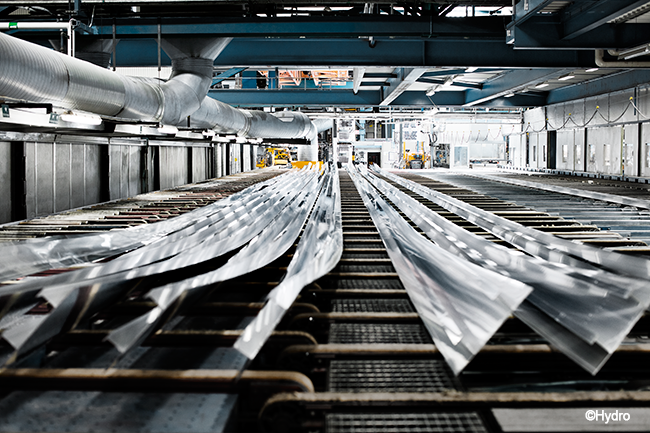 TECHNAL pionnier de l'aluminium bas carbone