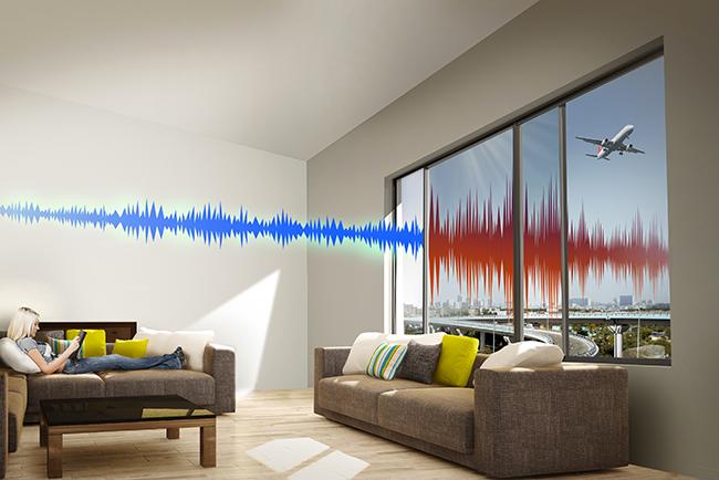 Innovation :  la fenêtre Anti-Bruit de TECHNAL récompensée